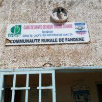 Façade salle des consultations de la case de Keur Thième Souaré