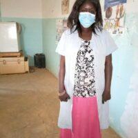: Salle d'attente avec l'agente de santé communautaire Mamy SAWARE